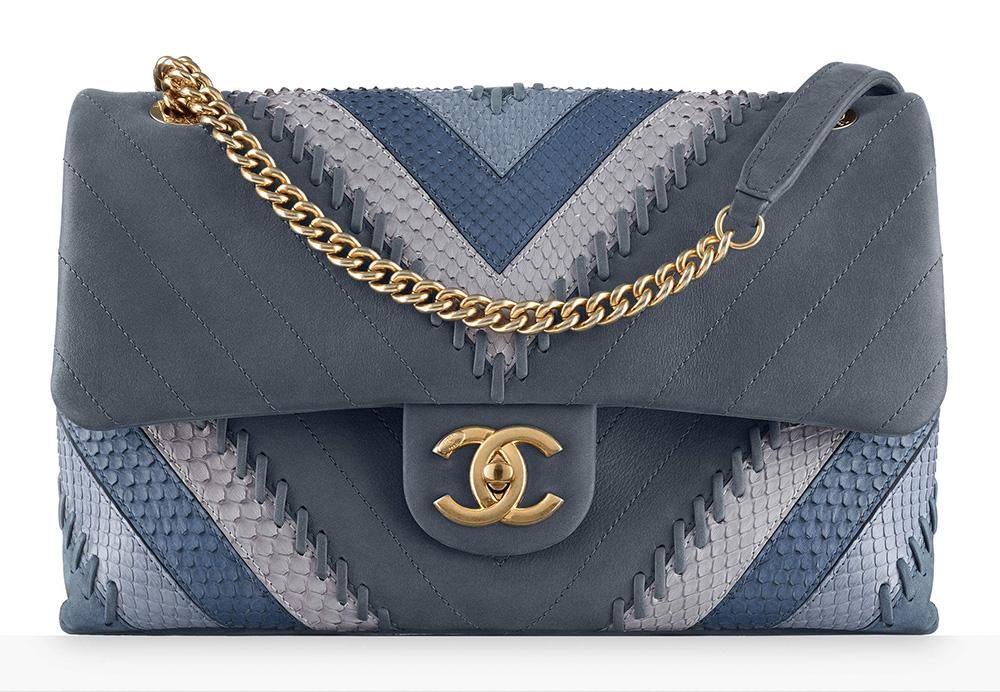 chanel-python-chevron-flap-bag-4900