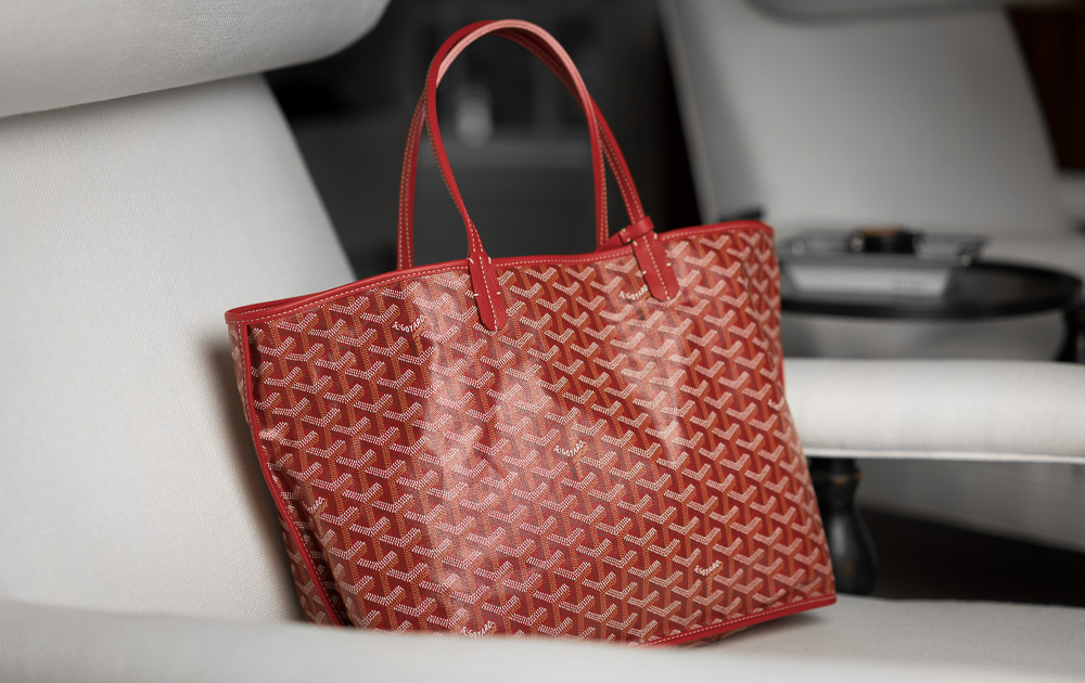 The Ultimate Bag Guide: The Goyard St. Louis Tote and Goyard Anjou ...
