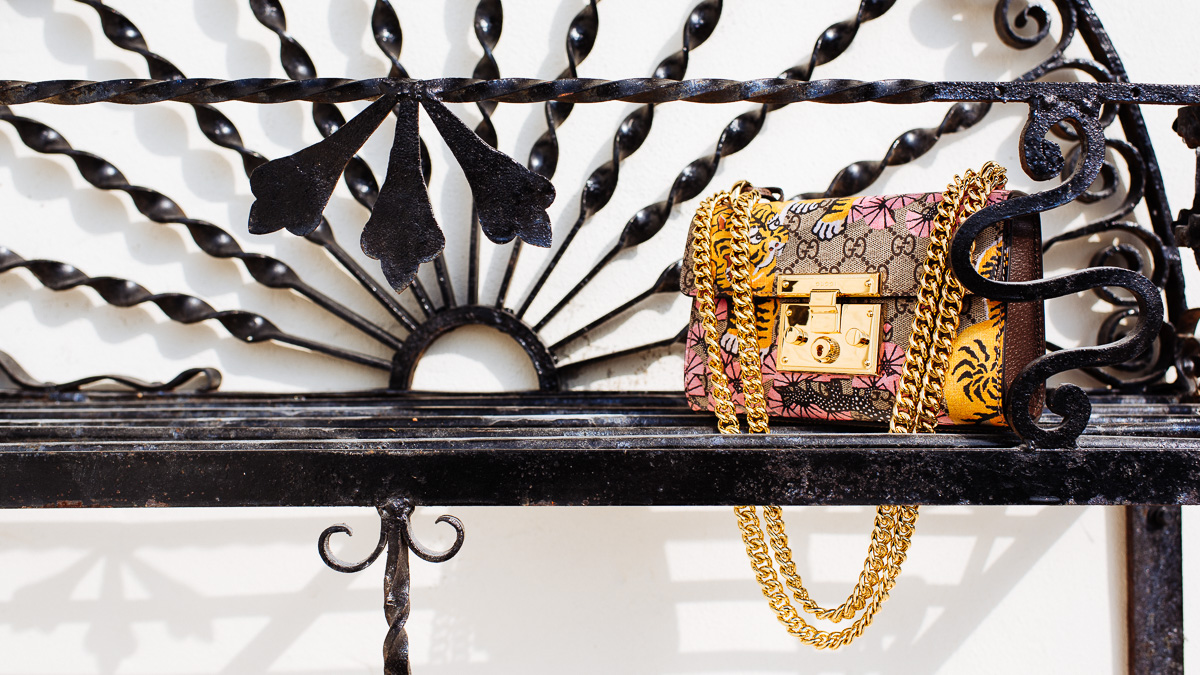 Gucci Padlock Gucci Bengal shoulder bag