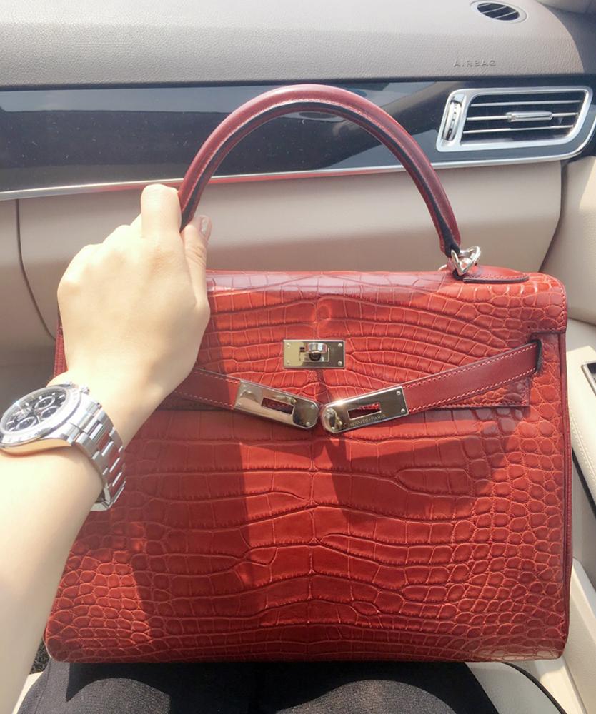 tPF Member: HermesBB Bag: Hermès Rouge H 32cm Kelly Bag