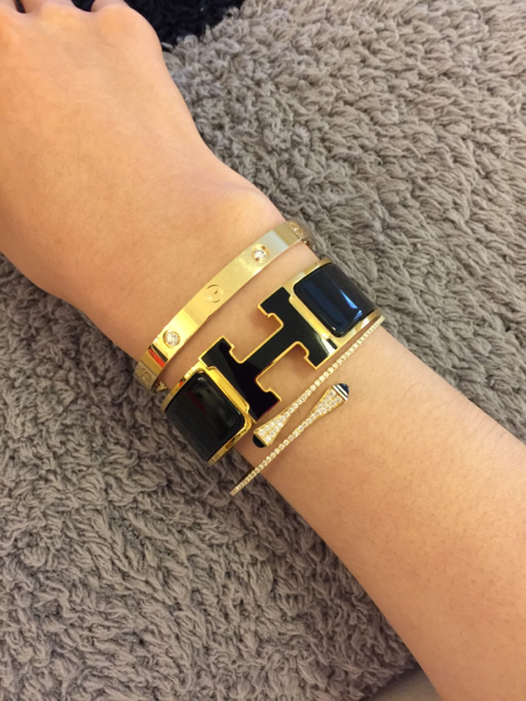 tPF Member: Jssl1688 Bracelet: Hermès Clic Clac Bracelet