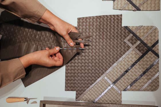 Exclusive Look at the Making Of a Bottega Veneta Intrecciato Olimpia Handbag
