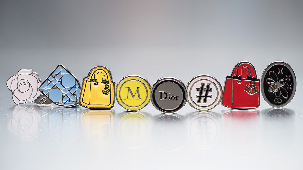 Dior Lucky Badges