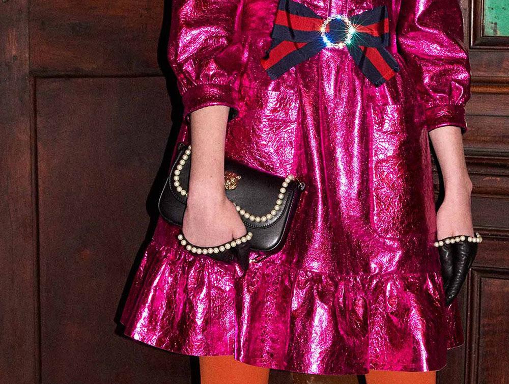 db50a4e486b Embellishment-Heavy Bag Collection for Gucci Pre-Fall 2017 - Big Fan ...