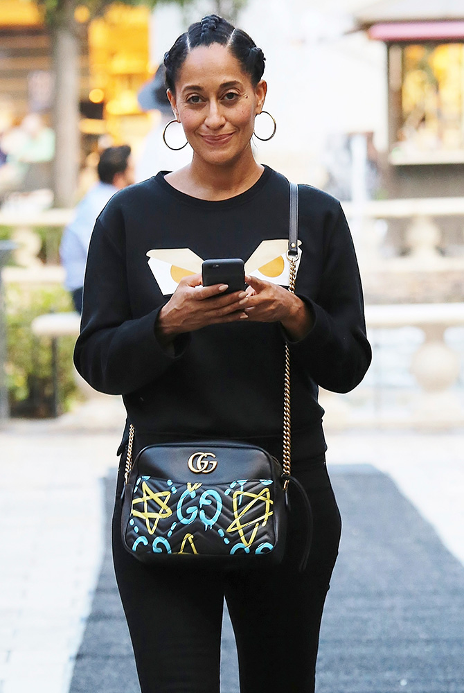 tracee-ellis-ross-gucci-ghost-marmont-bag