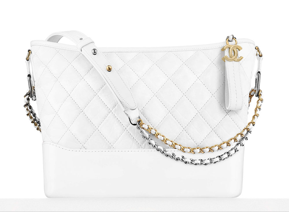 2a91228569c2 Chanel Gabrielle Purse White | Stanford Center for Opportunity ...