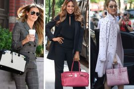 Lately, Celebs Have Dazzled Us with Bags from Hermès, The Row and Tod's