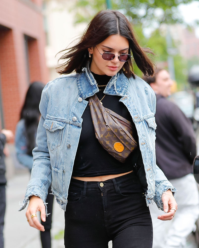 Is Kendall Jenner S Vintage Louis Vuitton Fanny Pack Fake