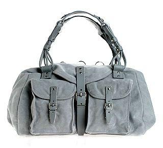 Balenciaga Suede Sac Bag