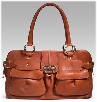 Burberry Leather Pocket Shoulder Bag