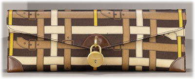 Burberry Trench Check Clutch