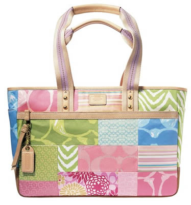 Coach Hamptons Patchwork Soft Tote