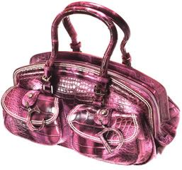 Dior Tie Dye Crocodile Detective Bag