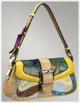 Etro Floral Patchwork Flap Shoulder Bag