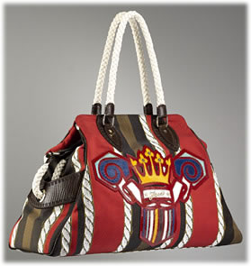 Fendi Bag du Jour with Crown Embroidery