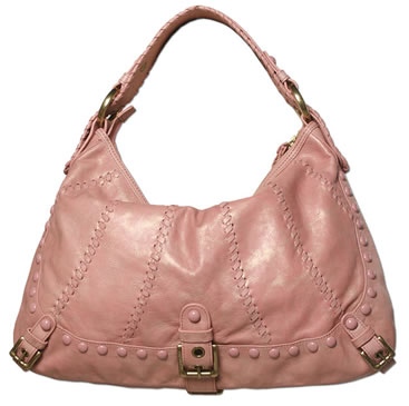 Isabella Fiore Whip Flashback Audra Hobo in Pink