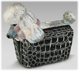 Judith Lieber Poodle Minaudiere Picture