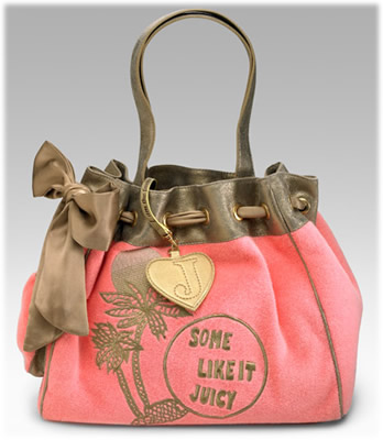 Juicy Couture Metallic Day Dreamer Tote