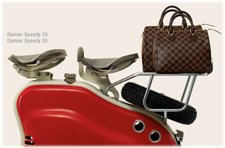 Louis Vuitton Damier Canvas Speedys