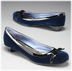 Marc by Marc Jacobs Velvet and Patent Flat