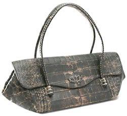 Tods Genuine Croc Handbag
