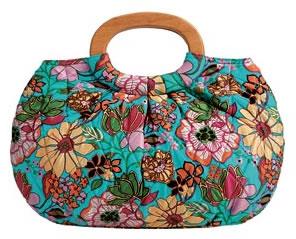 Vera Bradley Tropical Silk Limited Edition Kelly