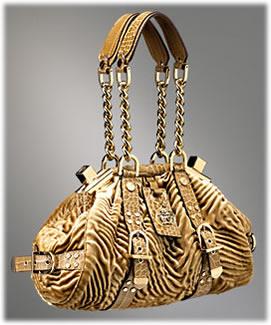 Versace Velvet Show Bag