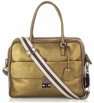 Anya Hindmarch Metallic Bowling Bag