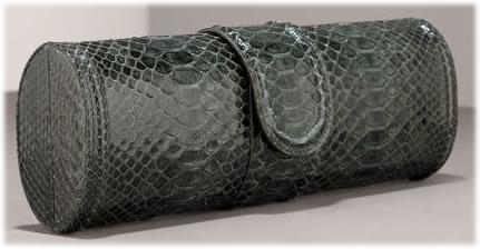 Armani Linea Python Clutch