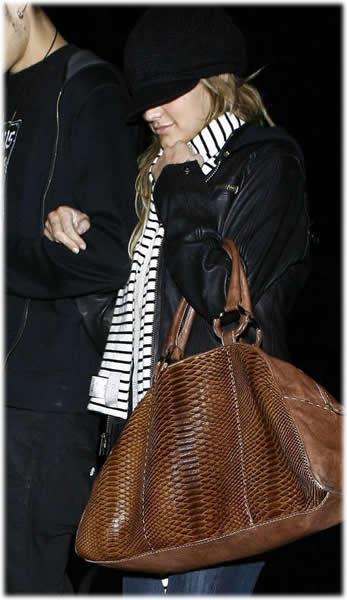 Ashlee Simpson Badgley Mischka Lolita Handbag