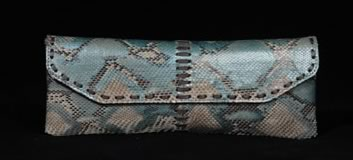 bird handbags snakeskin clutch