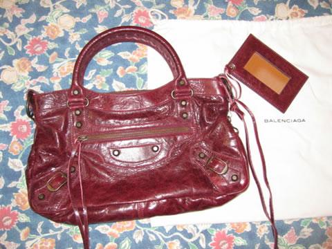 bordeaux first balenciaga bag