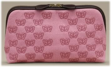 Bottega Veneta Butterfly Cosmetic Case