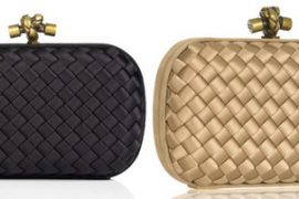 Bottega Veneta Satin Box Clutch