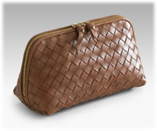 Bottega Veneta Woven Cosmetic Case