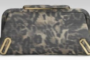 Brian Atwood Daphne Printed Clutch