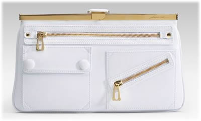 Brian Atwood Randal Leather Clutch