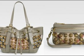 Burberry Gold Stud Bags