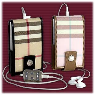 Burberry Plaid iPod Photo Case