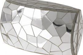 Celestina Cracked Mirror Clutch