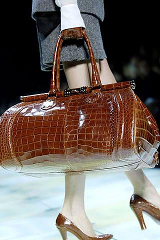 Celine Large Croc Bag