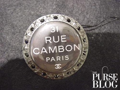 Chanel COCO MANIA brooch in black
