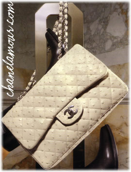 Chanel Ostrich 2.55