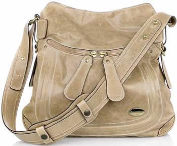 Chloe Bay Leather Shoulder Bag