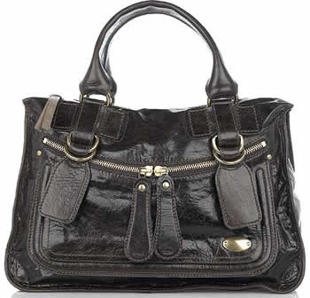 Chloe Bay Leather Tote