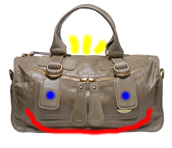 Chloe Large Bay Handbag