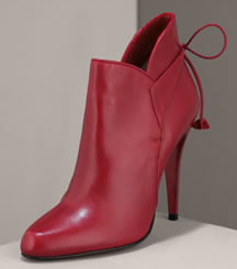 Christian Louboutin Bow Ankle Bootie