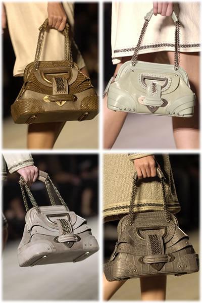 Christian Dior Spring 2007 handbags