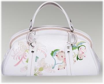 Dior Embroidered Flowers Frame Bag