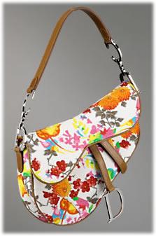 Dior Japanese Patchwork Saddle Bag